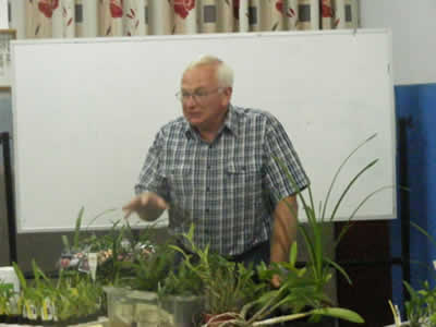 Ray Clements during his talk